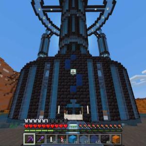 #234 メサに黒い塔を建てようかと~の3(*´ω`*)