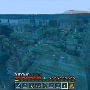 ♯94 海底都市を作りたい~ぼちぼちと追加した建物(*´ω`*)