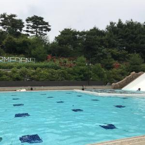 ①韓国首都圏、コロナ中だけど普通の生活~プール