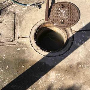 亀岡市 排水マス溢れる お任せ下さい‼️