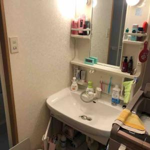 京都市南区 洗面化粧台修理交換 お任せ下さい‼️