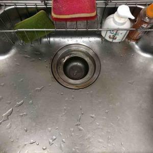 京都市上京区 キッチン排水流れない お任せ下さい‼️