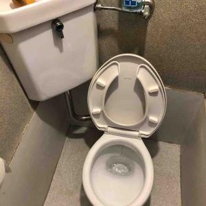 木津川市 トイレ流れない溢れる お任せ下さい‼️