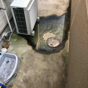 京都市山科区 屋外下水つまり お任せ下さい‼️