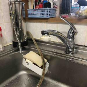 城陽市キッチン蛇口水漏れお任せ下さい‼️