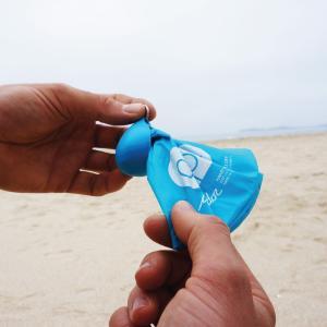 雨降り日の着替え袋からマイクロプラスチックについて考えてみた