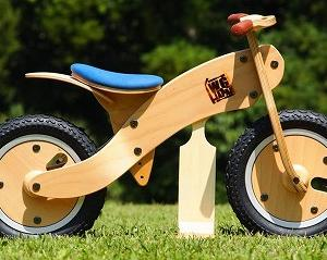 【2018版クリスマスプレゼント】おまけ 木製ランバイク