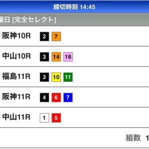 WIN5予想(4/19)