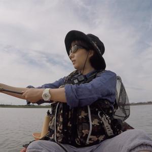 伊勢宮川で、初めてのカヤックチニングに挑戦!