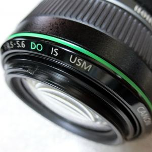EF70-300mm DOレンズの「緑環」を実写で確かめてみました