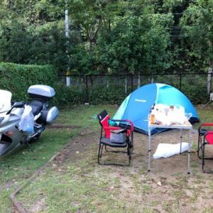初キャンプツーリング9月22日!