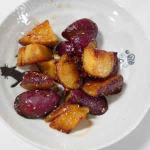 秋の旬、さつまいも尽くし!混ぜて焼くだけ簡単スイートポテト風レシピも!