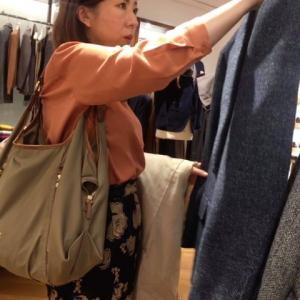 【メンズ】ショッピング同行実習を行いました