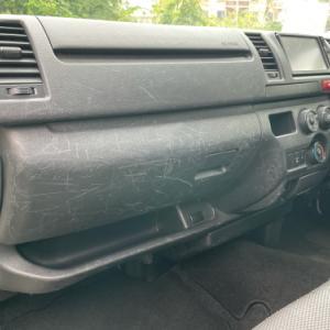 傷だらけの車内★リペアでなんとかします!