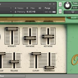 レトロで可愛らしい音色のオルガネッタ音源:AudioThing Organetta