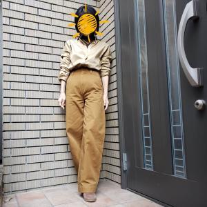 カーブパンツでつくる冬の大人カジュアル アラカンが着るUNIQLO140