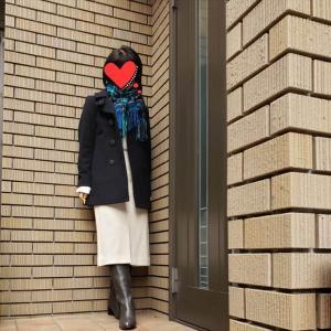 大人のピーコートはキレイ目に女性らしく! アラカンが着るUNIQLO142