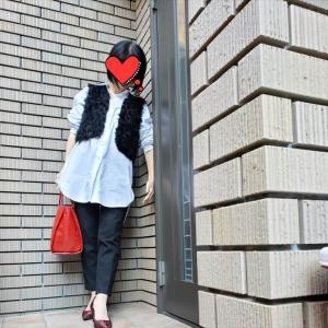 オーバーサイズロングシャツで体型カバー&旬コーデ アラカンが着るUNIQLO145