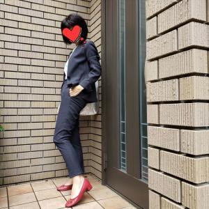 やること山積みの日の仕事服リネンブレンドのジャケット&パンツ
