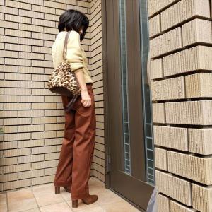 【withコロナ】仕事服の新定番!上品光沢ワイドテーパードパンツ
