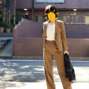 マニッシュパンツスーツで仕事スイッチをオン