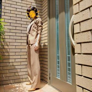 60代ボディの七難隠すパンツスーツ【恐るべし!補正効果】