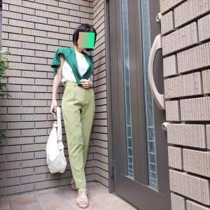 【大人の色遊び⑤】黄緑✕緑で初夏のなじませ「ナチュラル配色」