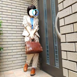 UNIQLOイネスのスーツ ダボパンツを攻略するも色合わせに失敗