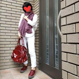 【雨の日の時短コーデ】作り置きした靴とバッグのセットでGO!