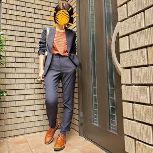 タフに仕事をするための服と靴【plstリネンブレンドスーツで5DAYS⑤】