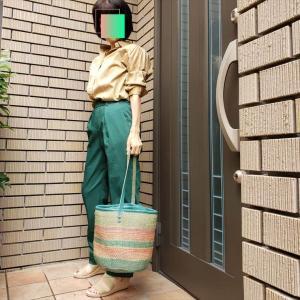 探していたのはこの緑色!DOCLASSEで見つけたパンツ