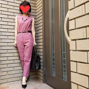 手術着見えしちゃったくすみピンクのセットアップにリベンジ!?