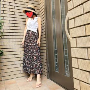 【2021夏服着納めWEEK】UNIQLOイネスのツイストプリーツスカート