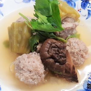 【タイ嫁レシピ#5】タイ家庭料理の作り方「ゴーヤの肉詰めスープ」