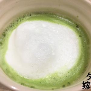 【うちカフェ】エスプレッソマシンで作る「タイ風グリーンティーラテ」の作り方