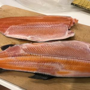 歩留まりってなんだ!?ニジマスは食べるところが多くて調理もしやすいお魚ですよというお話
