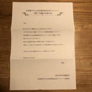 【懸賞当選!】JRA QUOカード 1000円分当選