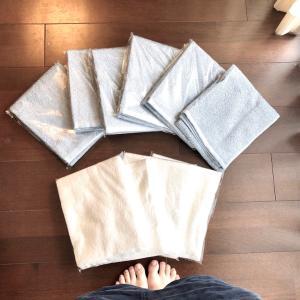 【整える10分】年1回のタオル交換。難民再び…結局選んだタオルは。