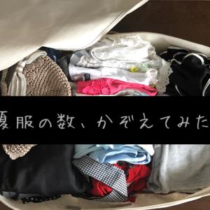 【手放す10分】夏服の数を数えてみた