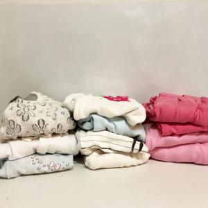 【手放す30分】子供服の量を数え、比べてみた!2年前の3分の1に^^