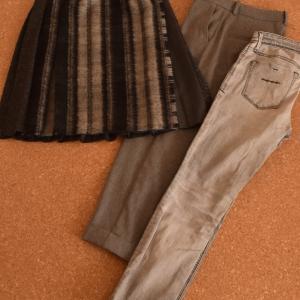 冬服セットと秋後半の服の振り返り