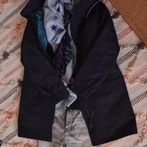 GORE-TEXのジャケットで1 in 3 out