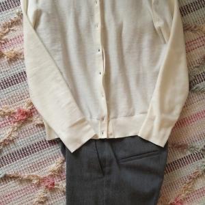 春服の計画その② 寒い日は冬服と組み合わせて