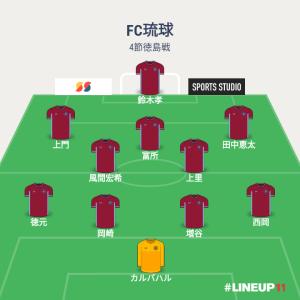 2019 J2リーグ4節 FC琉球対徳島ヴォルティス メモ