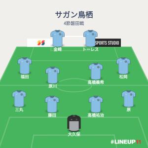 2019 J1リーグ 4節 サガン鳥栖対ジュビロ磐田 メモ