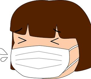 今、マスクをしていない人