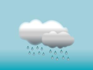 ずっと雨マーク