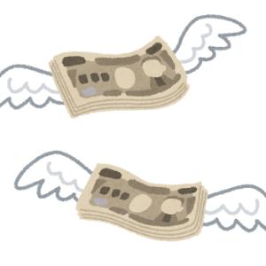 今日一日でお金が一気に無くなった(泣)