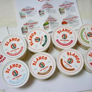 お取り寄せアイス✳︎熊本県 BLANCO ice cream