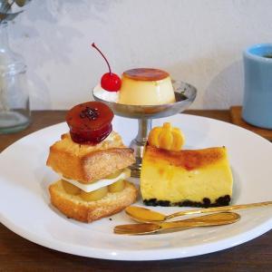山手✳︎Little Village Cafe④ お芋あんバターのスコーンサンドetc